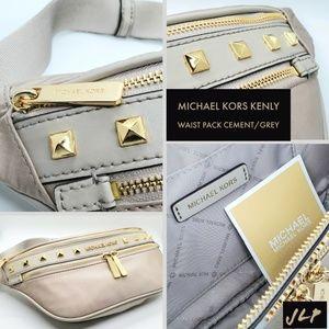 MICHAEL KORS Kenly Waistpack (Cement)